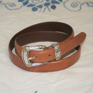 Fossil Mexican Style Leather Belt Womens Medium